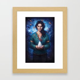 Muse of Nightmares Framed Art Print