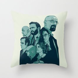 Br Ba Throw Pillow