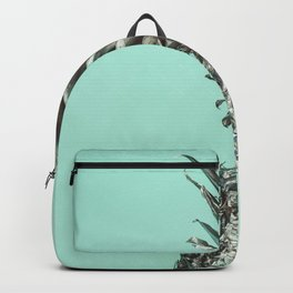 Silver Mint Pineapple Backpack