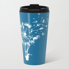 Going where the wind blows Metal Travel Mug