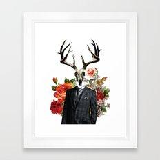 Hannibal as the Wendigo Framed Art Print