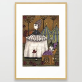 A Day in Autumn Framed Art Print
