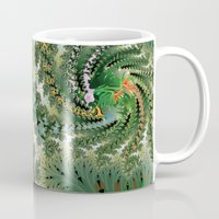 fractal Mugs featuring Fractal by nicky2342