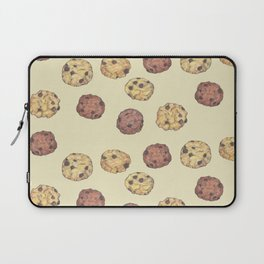 cookies_pattern_light yellow Laptop Sleeve