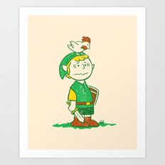 A Hero Named... Art Print