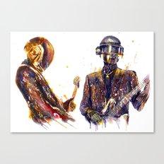 DAFTPUNK III Canvas Print