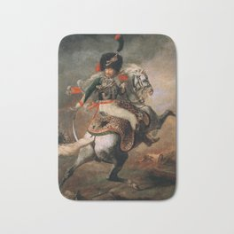 An Officer of the Imperial Horse Guards Charging Bath Mat