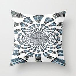 Dalek Throw Pillow