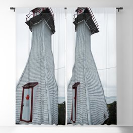 Antique Range Light - Lighthouse Blackout Curtain