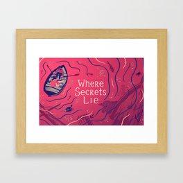 Graft - Where Secrets Lie Framed Art Print