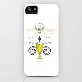 - Psalm 91:2 iPhone Case