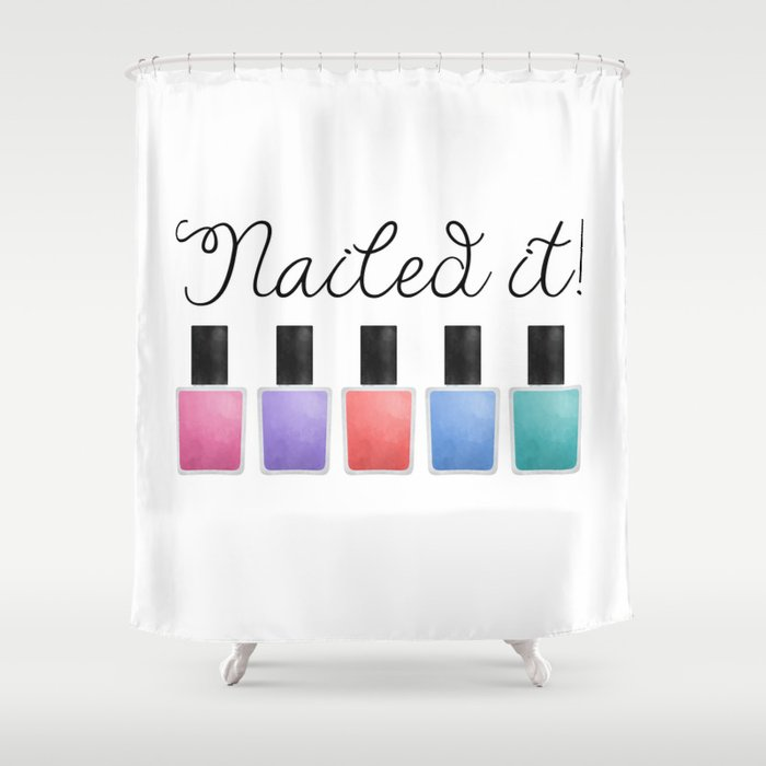 Nailed It Shower Curtain