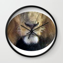 Lion Mouth Wall Clock