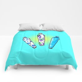 joints of summer Comforters