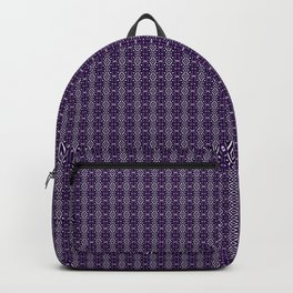 Meshed in Purple Backpack