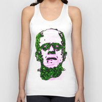 frank Tank Tops featuring Frank by Fimbis