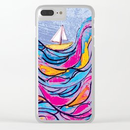Sailing 3 Clear iPhone Case