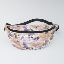 Watercolor vintage pattern Fanny Pack