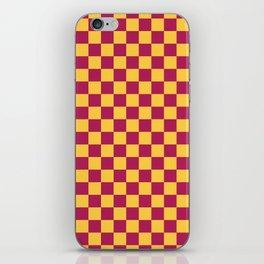 Checkered Pattern VII iPhone Skin