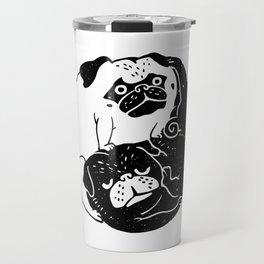 The Tao of Pug Travel Mug