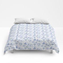 Winnipeg Summer Toile Comforters