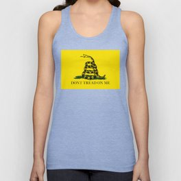 Gadsden Don't Tread On Me Flag, High Quality Unisex Tank Top