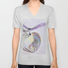Heart of Glass Unisex V-Neck