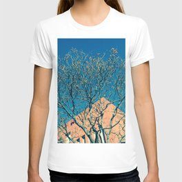 Fantasía (en azul y amarillo) T-shirt