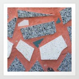 Mozaic Art Print
