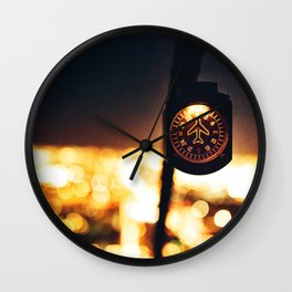 helicopter cockpit Wall Clock