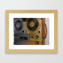garbage finds Framed Art Print
