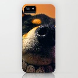 Kuma Close-up iPhone Case