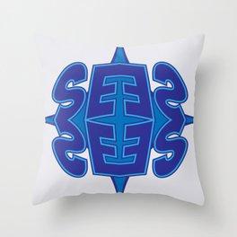 Abstract Typo Throw Pillow