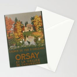 classic poster ORLEANS Orsay Stationery Cards