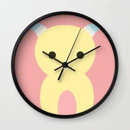 Little Monster 5 Wall Clock