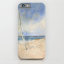 12,000pixel-500dpi - Mariano Fortuny - African Beach - Digital Remastered Edition iPhone Case