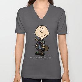 Charlie Brown Unisex V-Neck