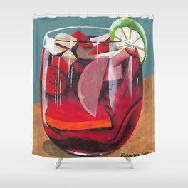 Fruit cocktail Shower Curtain