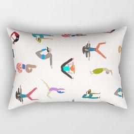 yoga lovers Rectangular Pillow