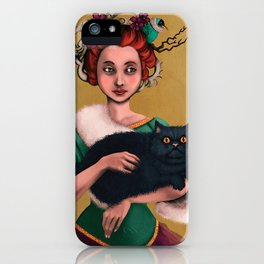 Lady decadence  iPhone Case