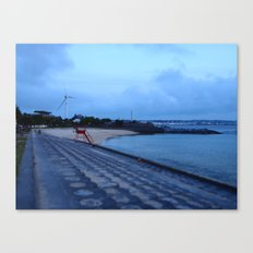 Sunset Beach, Okinawa Canvas Print