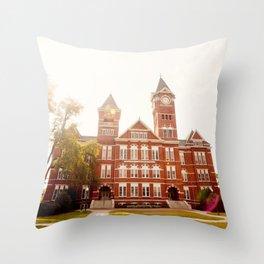 Samford Hall - Auburn University 2 Throw Pillow