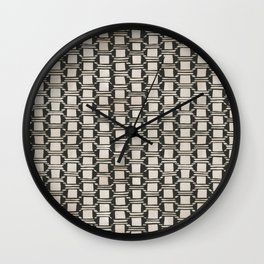 Karten Vase Wall Clock