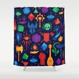 TTRPG Forever - Color Shower Curtain