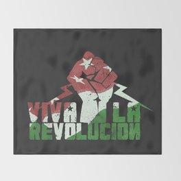 Viva La Revolucion Throw Blanket