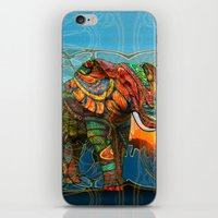 sylvia plath iPhone & iPod Skins featuring Elephant's Dream by Waelad Akadan