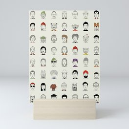 Random People Mini Art Print