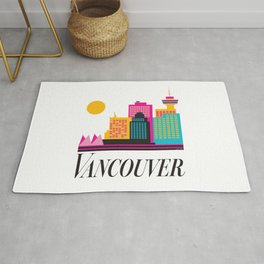 Vancouver Coal Harbour Rug