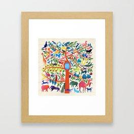 Animalia Framed Art Print