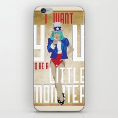 For The Monsters iPhone & iPod Skin